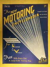 The NEW MOTORING ENCYCLOPEDIA  1937 - Part 25 - Oil Pump - Opel - Oldsmobile