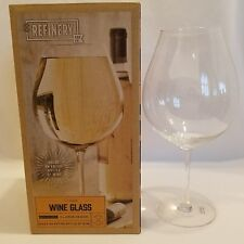 Refinery Oversized Wine Glass New In Box X-Large Design Gag Prank Gift Bar Decor