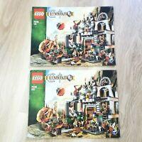 LEGO - INSTRUCTIONS BOOKLET ONLY - Castle Dwarve's Mine - 7036