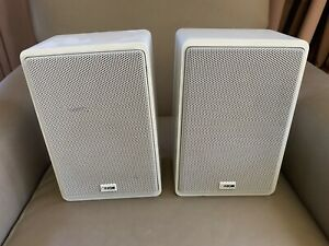 Rare Canton Gl-260 Monitors  Wall Speakers White [Made In Germany] 4 ohm 75 Watt
