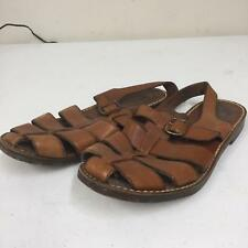 Cole Haans Country Womens F3525 Sandal Size 9.5 9 1/2 Brown Leather Strap Shoes