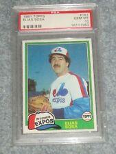 1981 Topps Baseball #181 Elias Sosa 10 Gem Mint
