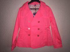 Mädchen MEXX Trendcoat Gr.122-128 pink Kinder Mantel zweireihig Neu Etikett