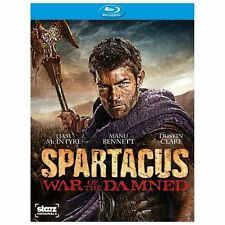 Spartacus: War of the Damned SEASON 3  (Blu-ray Disc, 2013, 3-Disc Set)