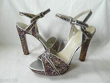 New inBox Nine West Slingbacks Heels Women Shoes Sandals 8M 8  Pink NWHotlist