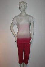 "Triumph Pyjama  ""Summer Breeze PK 22"" Gr.38 weiß mit rosa/pink Batikdesign"