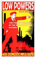 Low Powers Poster 1997 Original Japan Concert Poster by Frank Kozik S/N