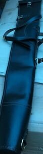 New Sheep Skin Leather Gun Case/Slip With Non Rusty Brass Buckles