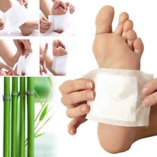 Detox Foot Pads Cleansing Patches Toxin Removal Ginger Salt 10 Pcs Foot Patch K8
