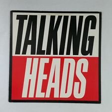 TALKING HEADS True Stories 125512 LP Vinyl VG++ Cover VG+ near ++ Sleeve