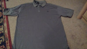 *NEW* Mercedes-Benz Short Sleeve Gray Polo Shirt Size Extra Large Dri Fit