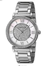 Micheal Kors women's Catlin Series Crystal Dial Stainless Steel Watch MK3355
