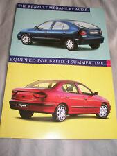 Renault Megane RT Alize brochure Jun 1998