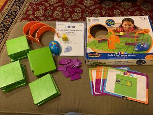Learning Resources Code & Go Robot Mouse Activity Set Kids Programmable STEM (CM