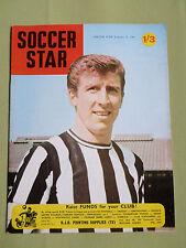SOCCER STAR - UK FOOTBALL MAGAZINE - 23 FEB 1968 -WYN DAVIES -  LINCOLN CITY