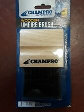 New! Champro Wooden Umpire Brush - Baseball Softball Umpire A040