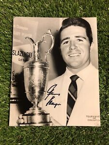 GARY PLAYER GOLF MASTERS & OPEN WINNER HAND SIGNED AUTHENTIC 8x10 PHOTO COA