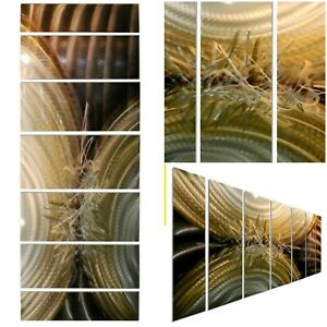 BRONZE SILVER GOLD! Modern Metal Wall Art Abstract Wall Sculpture  By Jon Allen
