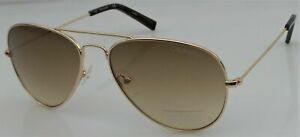 NWT Calvin Klein Unisex Sunglasses CK19134S Gold/Brown