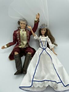 BARBIE THE PRINCESS AND THE PAUPER, ERIKA, KING DOMINICKPRINCE WEDDING DRESS