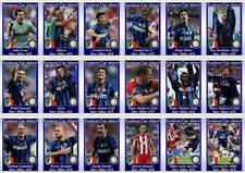 Inter Milan European Champions League winners 2010 football trading cards
