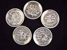 MITOLOGIA by FORNASETTI for BONWIT TELLER Set of 5 Coasters
