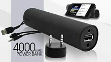 3 IN 1 POWER BANK SPEAKER & CHARGER: Phones - Tablets -  MP3 Players 4400mAh Cap