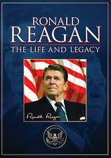 Ronald Reagan: The Life and Legacy (DVD, 2014, 2-Disc Set) GREAT SHAPE
