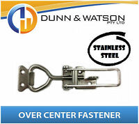 Small Stainless Steel Over Centre / Center Fastener, Latch, Catch - Trailer