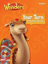 3rd Grade READING WONDERS Your Turn Practice Book Brand New Free Shipping