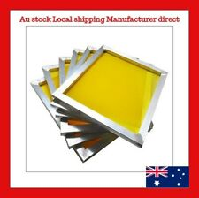 5 of 27x39cm Screen Frame with 120t 300M Silk Screen Printing Free Post to Metro