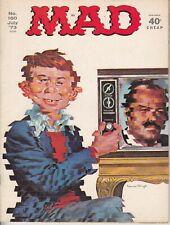 MAD #160 1973 E.C. B&W -ALFRED E. NEUMAN -SPY-VS-SPY- 'CANNONBALL'...VF