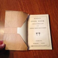 "Vintage 1916 ""Berean Cookbook"" Book"