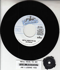 """JIM REEVES He'll Have To Go & Am I Losing You? 7"""" 45 record NEW + juke box strip"""