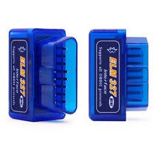 Mini ELM327 V2.1 OBD2 II Bluetooth Diagnostic Car Auto Interface Scanner Plastic