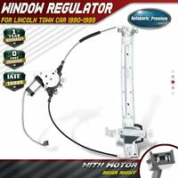Power Window Regulator with Motor for Lincoln Town Car 1990-1993 Rear Passenger