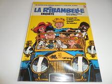 LA RIBAMBELLE ENQUETTE/ REEDITION CARTONNEE 1984/ ROBA/ JIDEHEM/ BE