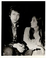 "Bob Dylan Joan Baez Photo  B/W Glossy 10""x8"" Circa Early 60s"