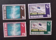 Tristan Da Cunha 1968 30th Ann as Dependency SG SG117/20 MNH UM unmounted mint