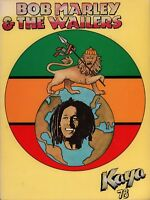 BOB MARLEY 1978 KAYA U.S. TOUR VINTAGE CONCERT PROGRAM BOOK BOOKLET / NMT 2 MINT