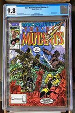 New Mutants Special Edition #1 Marvel 1985 CGC NM/MT 9.8