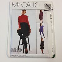 McCALL/'S SEWING PATTERN KIDS DOLL FACE APRON 5 FACES SIZE 3-4-5-6-7-8 # M6662
