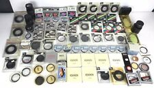 Lot of 80 Plus Vtg Camera Filters Lens Accessories 80% Deadstock New Oldstock