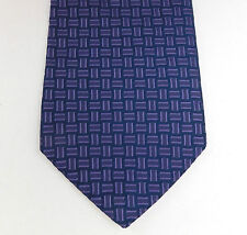 Purple patterned tie Essential Tie Collection made in the UK