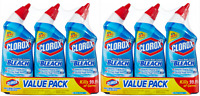 (2 Pack) Clorox Toilet Bowl Cleaner  Rain Clean-  With Bleach - 24 Oz, 3 Pack