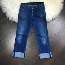 Citizens of Humanity Jeans Cropped Size 26 Dani Cropped Straight Leg Cuffed