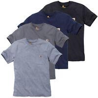 Carhartt Herren T-Shirt Work Pocket Oberteil Top Shirt // XS S M L XL XXL // NEU