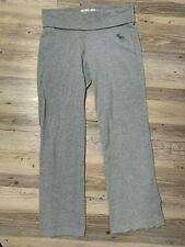 Abercrombie & Fitch Women's Size Small Gray Athletic Sweatpants GREAT CLEAN GUC