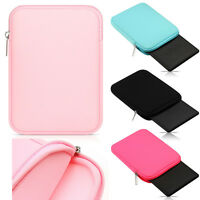 """Universal Zipper Soft Sleeve Pouch Carry Bag Case Cover For 7"""" - 8"""" Tablet PC"""