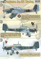 Print Scale Decals 1/144 JUNKERS Ju-87 STUKA German Dive Bomber